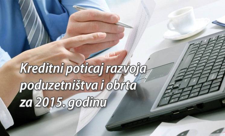 JAVNI NATJEČAJ - Kreditni poticaj 2015.
