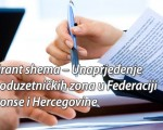 Unaprjeđenje poduzetničkih zona u Federaciji BiH