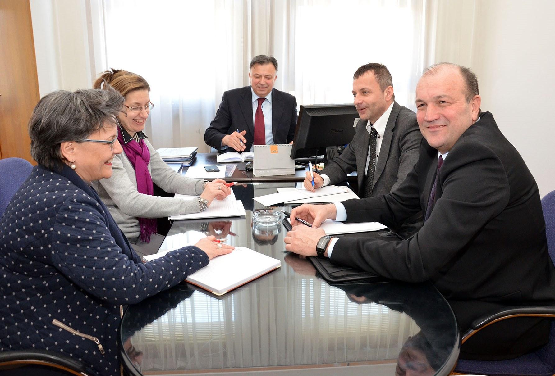 Savjet o sastanku s ministrom