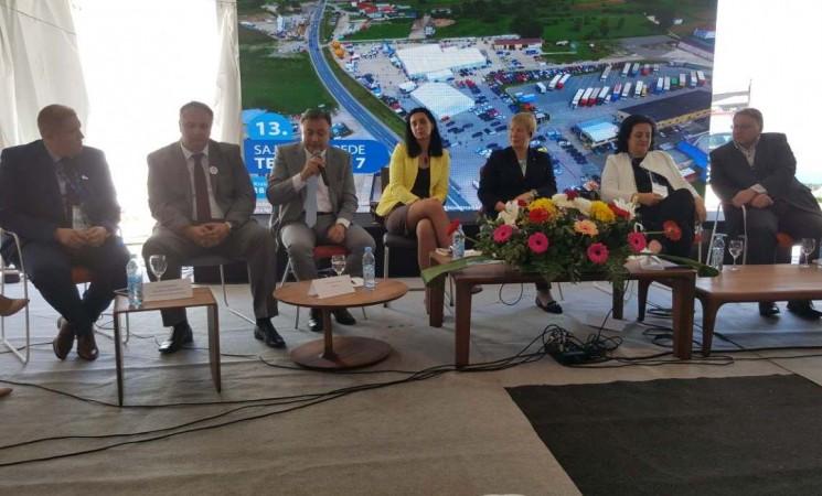 Ministar Zukić na otvorenju 13. sajma privrede u Tešnju