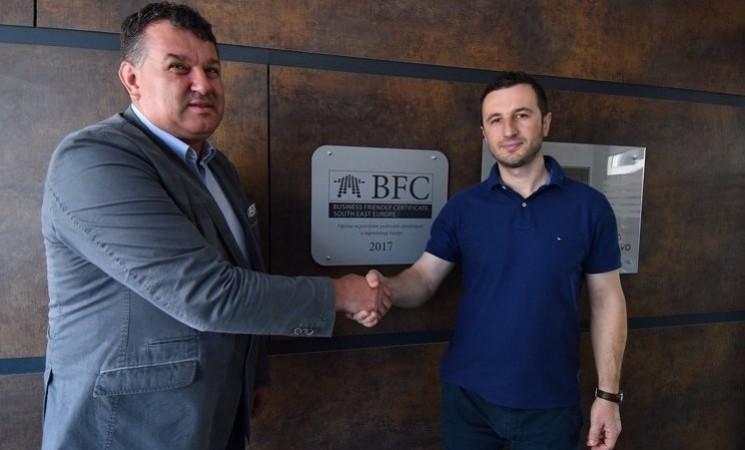 Općina Novi Grad Sarajevo dobila BFC certifikat