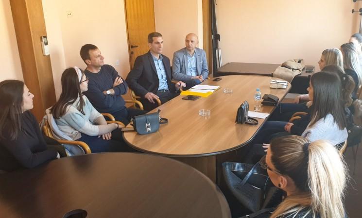 Studenti Ekonomskog fakulteta u posjetu Ministarstvu